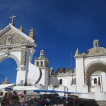 Copacabana Cathedral - spot the Moorish influence