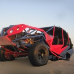 Our dune buggy. Yes, it did look cool!