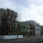 More buildings on the Malecón - and some Iron artwork