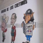 """Cretins' Corner"" in the Museum of the Revolution"